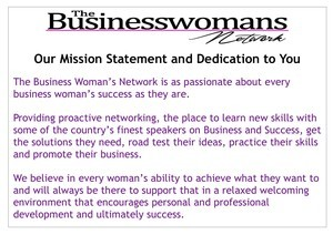 The BWN networking mission statement to women in business essex herts suffolk london norfolk cambs