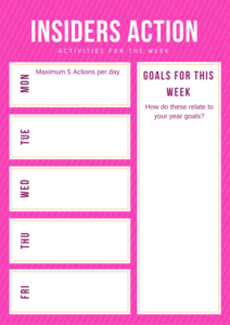 BWN INsiders planner image of
