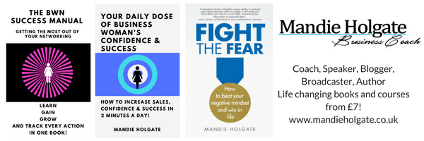 Coach, Speaker, Blogger, Broadcaster, AuthorLife changing books and courses from £7!www.mandieholgate.co.uk - Copy