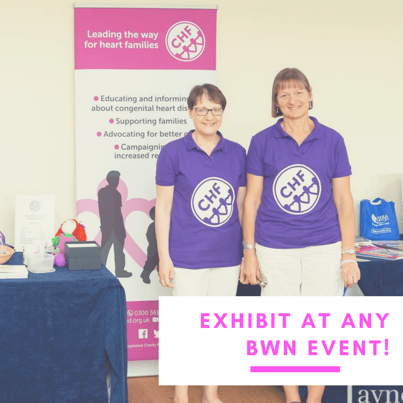 exhibit at any BWN networking event