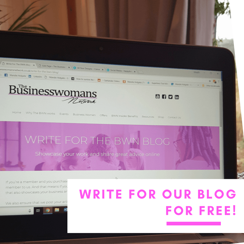 write for the bwn blog to business women