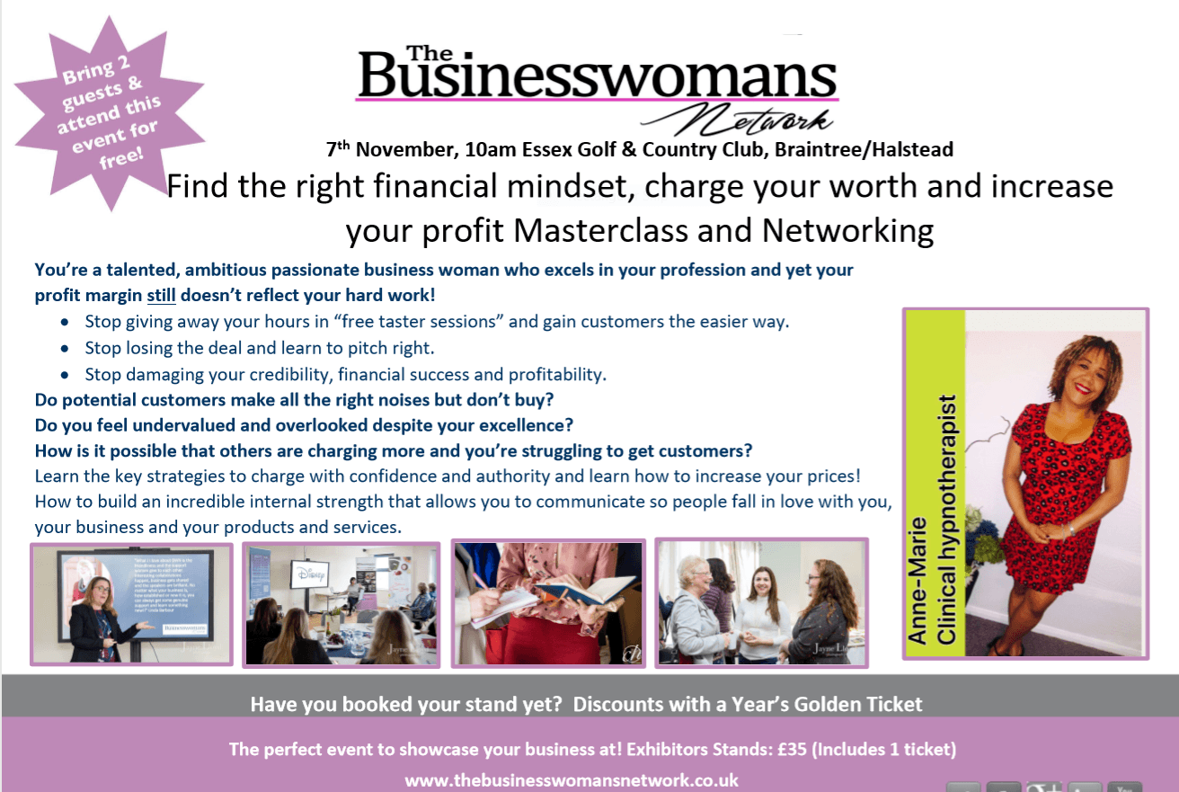 Essex networking for women