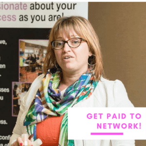 Get paid to network