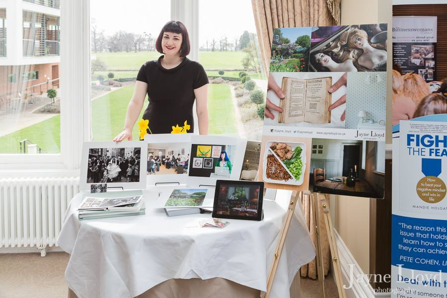 Jayne lloyd exhibiting at The BWN Networking