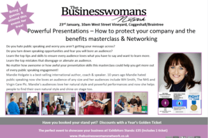 23rd Jan Braintree BWN Powerful presentations