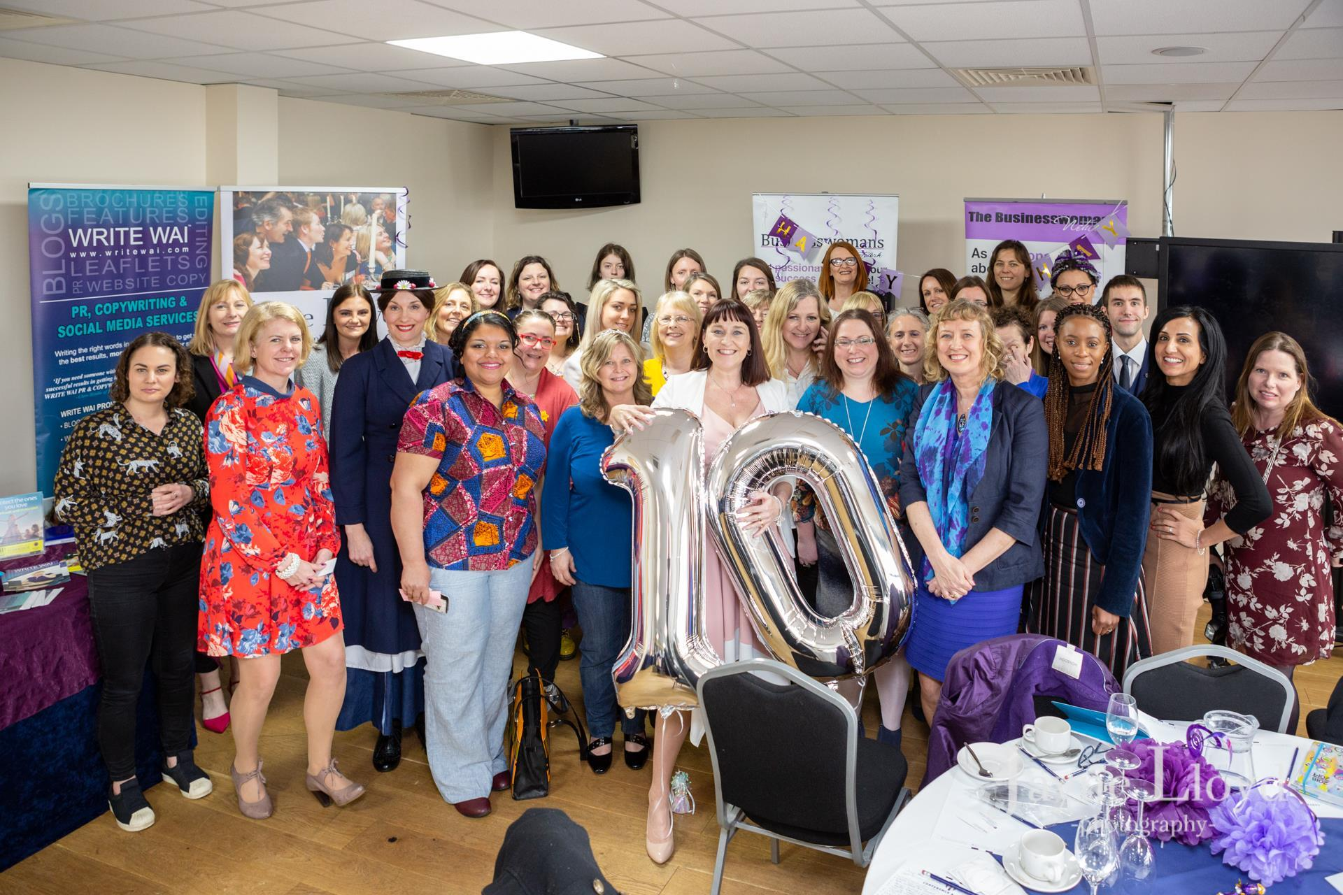 10 years networking for women in business
