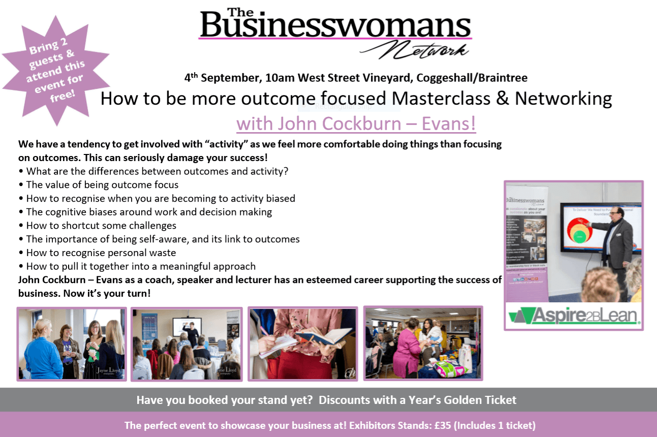 4th sept essex networking for women in business