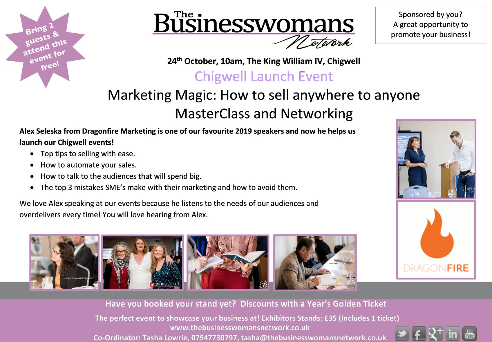 Networking Chigwell London Women