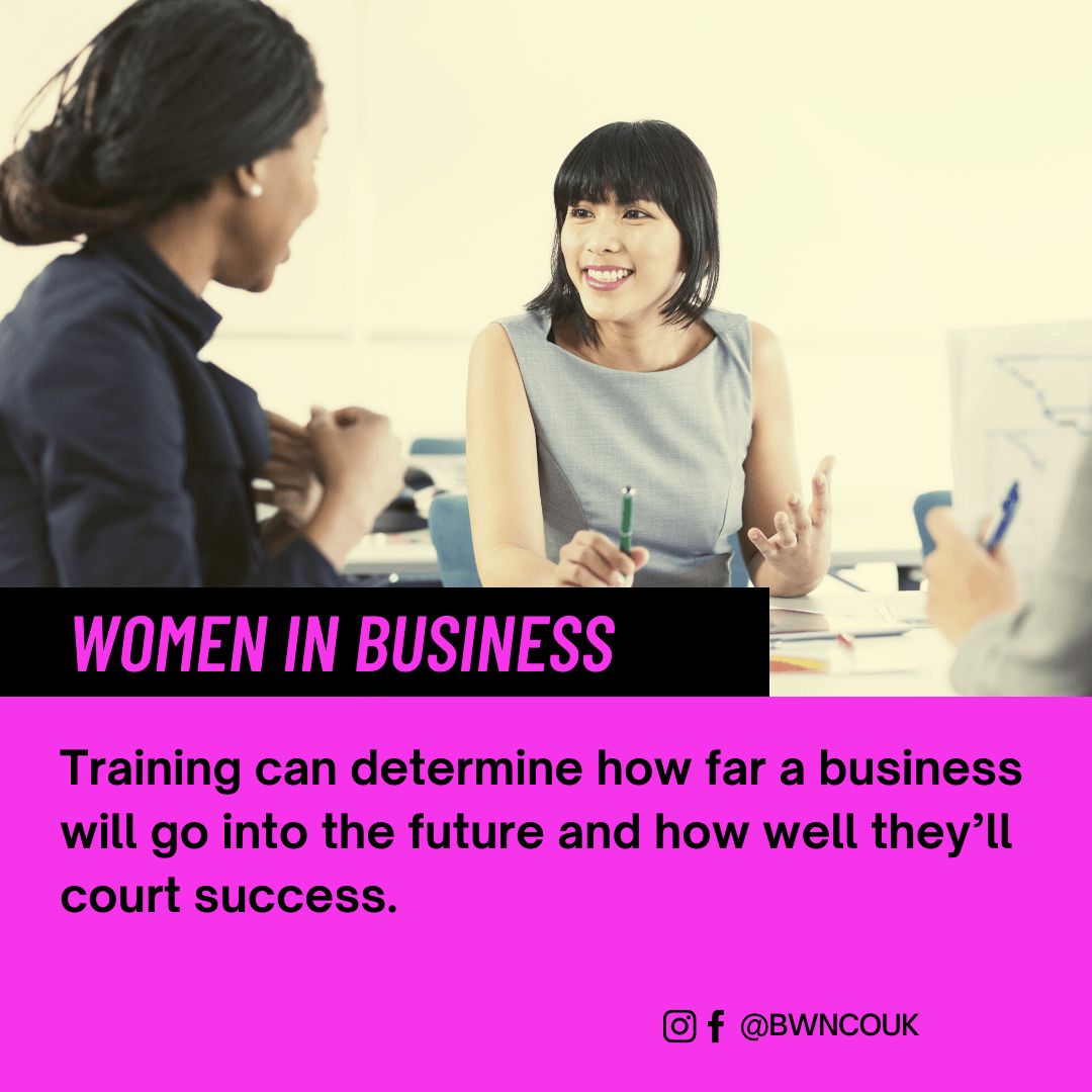 Training can determine how far a business will go into the future and how well they'll court success.
